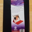 Props Pivot iPad Case Cover  iPad 2 3 4  Rotating Case 360 Degrees