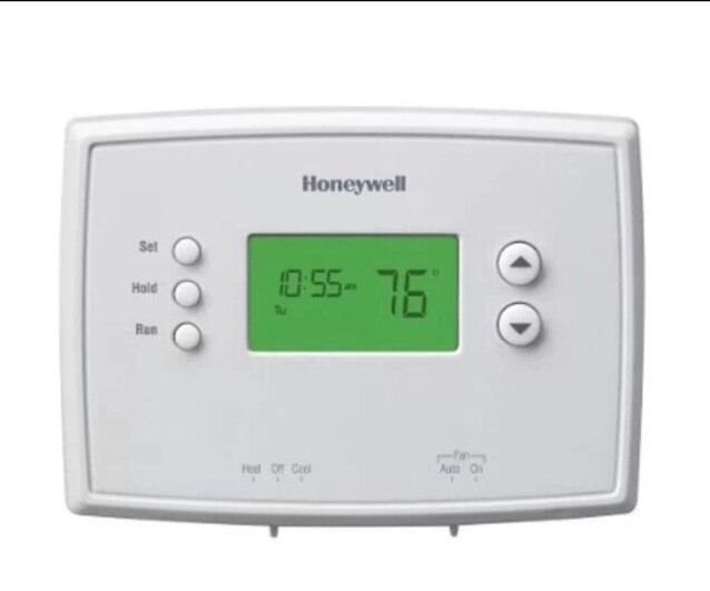 Honeywell 5-1-1 Day Programmable Thermostat with Backlight RTH2410B