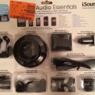 iSound 9-in-1 Audio Essentials Kit for Mobile Devices  Portable Speaker Stereo