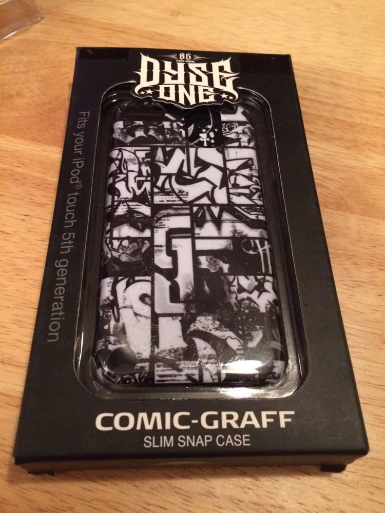 Dyse One Case For iPod Touch 5 5th Gen Comic-Graff  Merkury  DY-T5CCG
