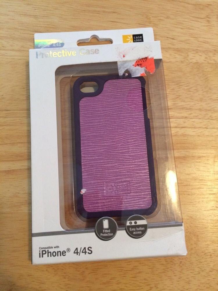 Case Logic Protective Case iPhone 4 4S Purple Metallic