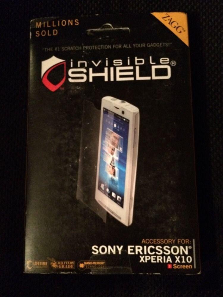 ZAGG InvisibleShield for Sony Ericsson Xperia X10 Screen Protector  Invisible Sh