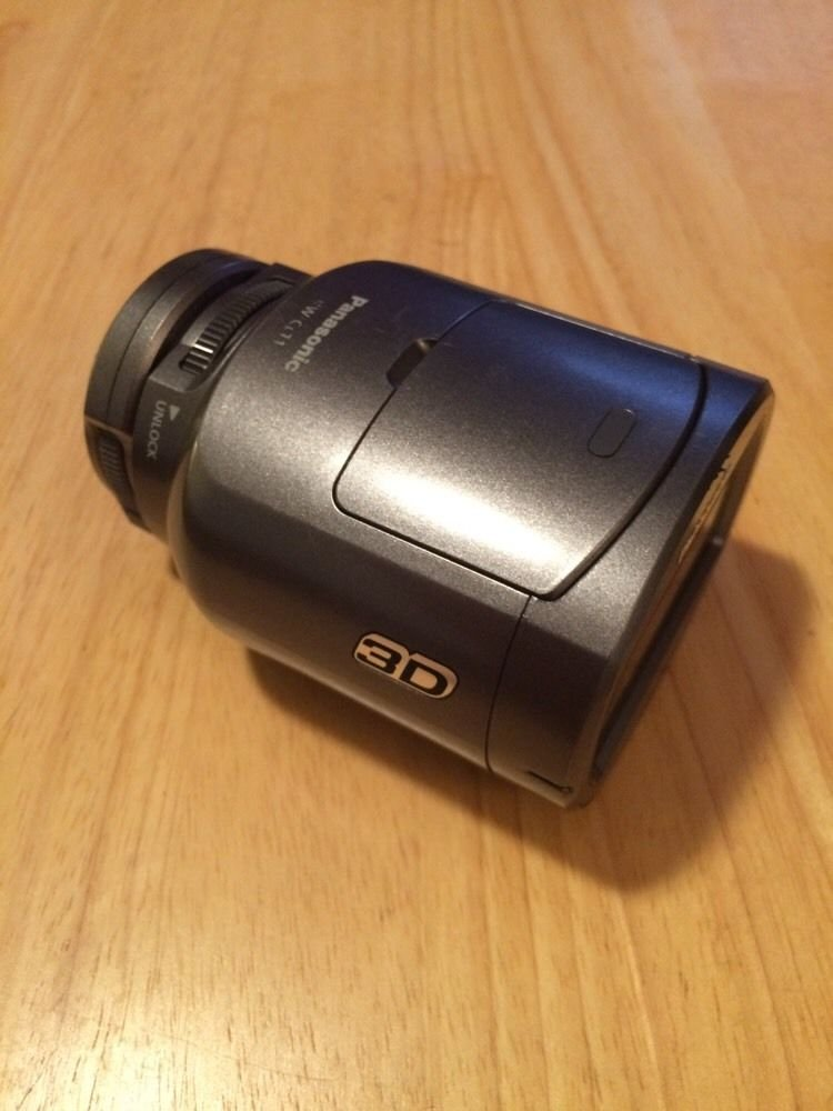 Panasonic VW-CLT1 3D Converter Lens for SDT750 and SDT650 Camcorders