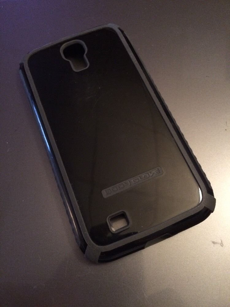 Body Glove Tactic Case Samsung Galaxy S4 SIV  OEM  Black / Grey Used