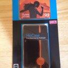 Apple iPod Touch Leather Case HipCase Black & Orange  DLO Flip Case