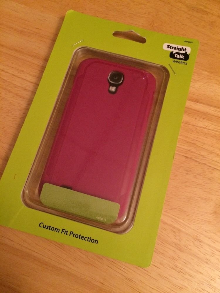 Body Glove Style Case Cover Samsung Galaxy S4 SIV Pink Matte CRC93599