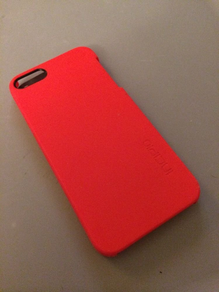 Incipio feather Ultra Thin Snap-On Case Cover for Apple iPhone 5 / 5S -  Red