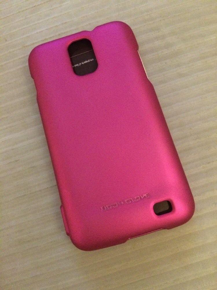 Samsung Galaxy S2 SII Skyrocket Body Glove Smooth Case for ATT Pink