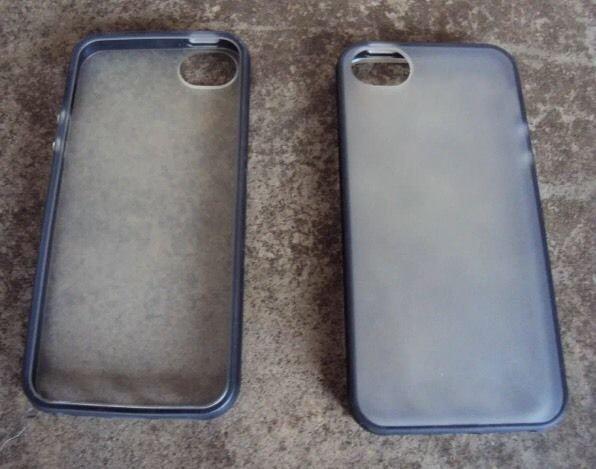 Candy Sheer Style iPhone 5 5S Gel Case TPU Bumper Case Grasp Transparent