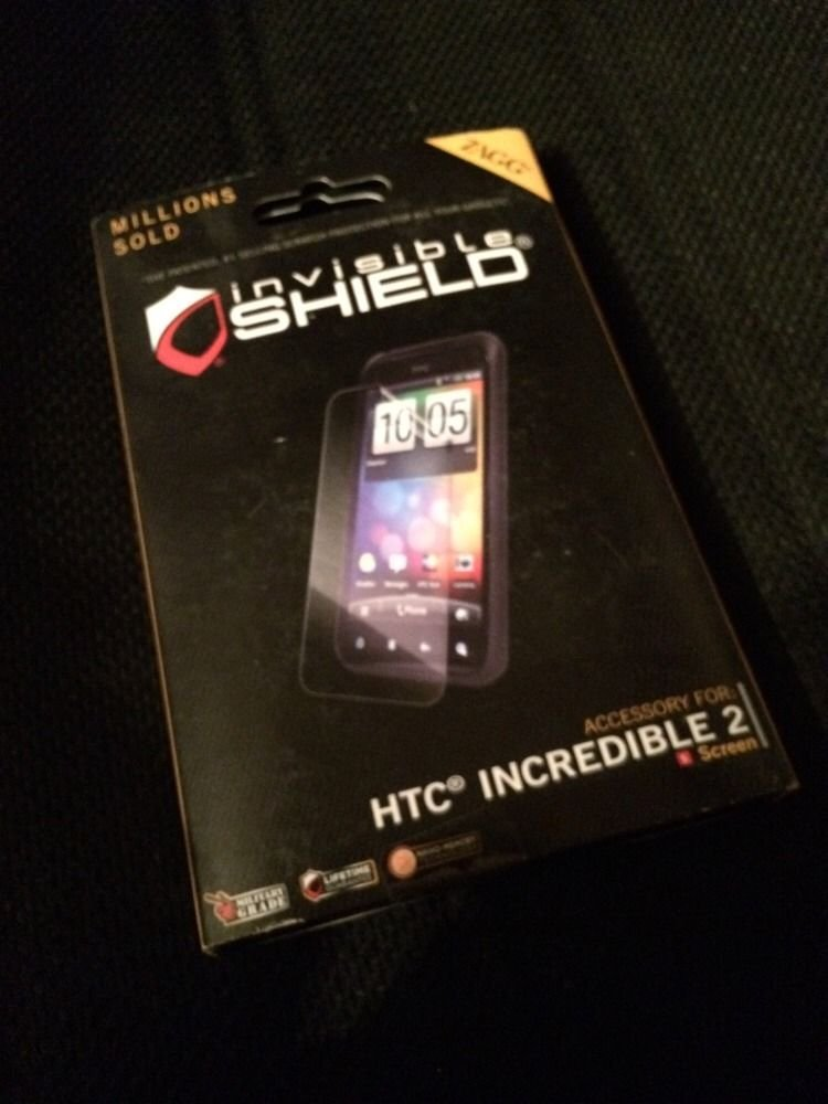 ZAGG - InvisibleSHIELD for HTC Droid Incredible 2  Screen Protector
