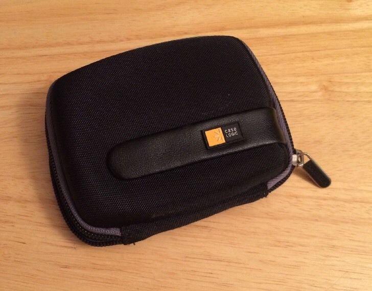 """Case Logic GPS Hardshell Case 3.5"""" Black with Gray"""