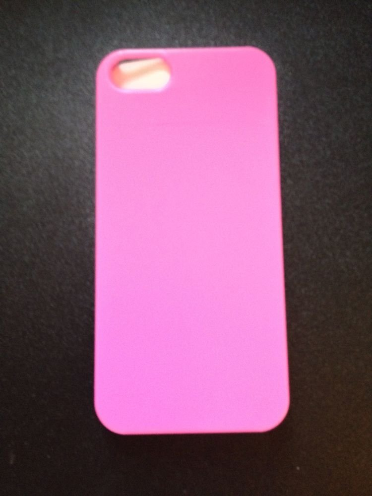 iPhone 5 5S Barely There Hard Case Cover Pink or Red  Snap On Case