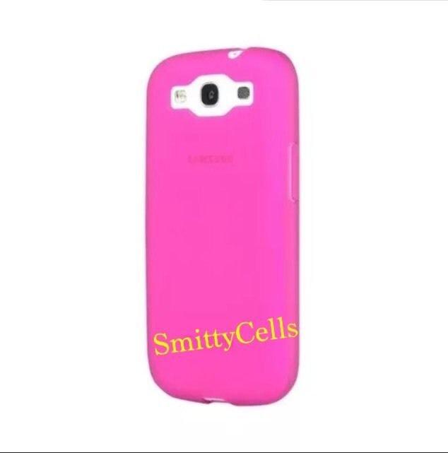 Incipio NGP Case for Samsung Galaxy S3 SIII  Pink Soft Gel Case