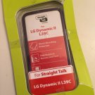 LG Dynamic II L39C Purple Gel Case For Straight Talk CRC94240 Matte Cover