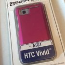 HTC Vivid Pink Body Glove Smooth Case for ATT Ultra Thin Soft Touch Cover