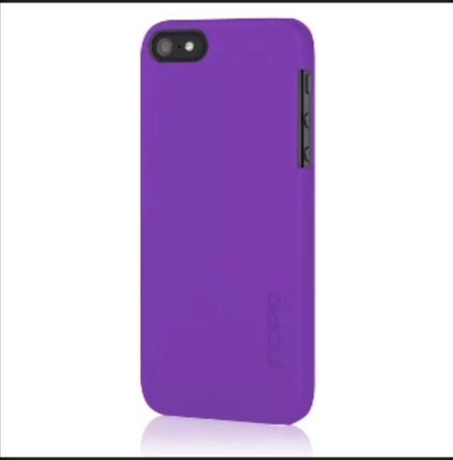 Incipio feather Ultra Thin Snap-On Case Cover for Apple iPhone 5 / 5S Purple.