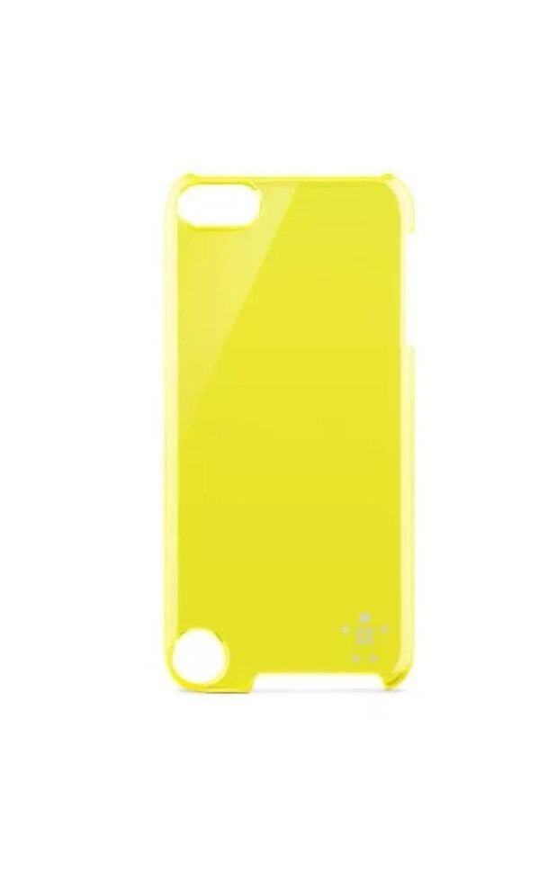 Belkin Shield Sheer Sheer Case for Apple iPod Touch 5/5th Gen.Transparent Yellow