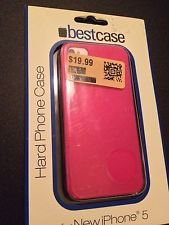 Apple iPhone 5 5S Hard Case Pink Or Purple By BestCase 12720-gr 12720-pk, Matte
