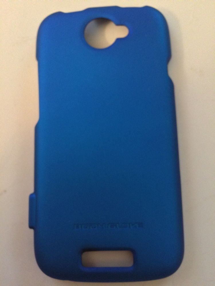 HTC ONE S Blue Body Glove Smooth Case for T-Mobile Ultra Thin Soft Touch