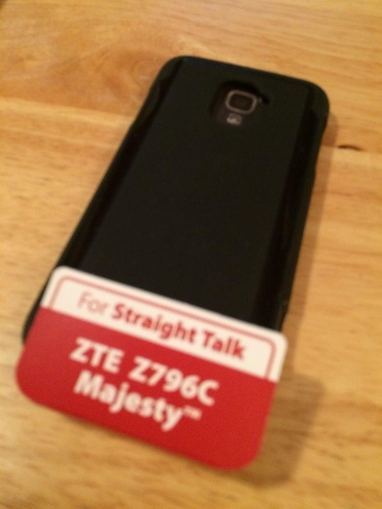 ZTE Z796C Savvy Black Gel Case by Body Glove StraightTalk Matte Case Alcatel