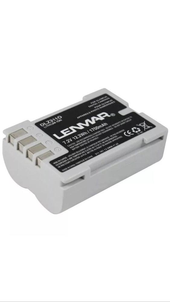 LENMAR DLZ311O Olympus BLM-5 Replacement Battery 1700mAh 7.2V