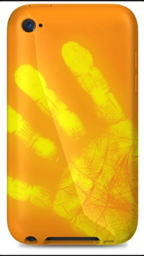 Xtrememac Tuffwrap Color Changing From Orange to Yellow iPod Touch 4G IPT-MO5-93