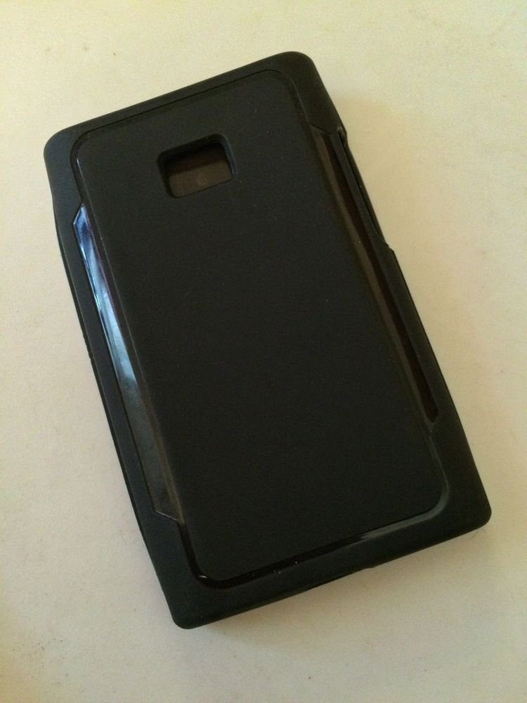 Body Glove Cadence Case for LG L38 L35 Optimus Gel Shell Black Matte Logic