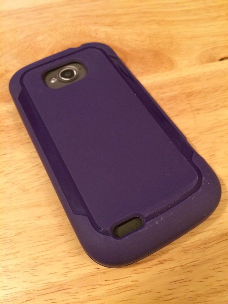 ZTE Z750C Savvy Purple Gel Case by Body Glove CRC94008, Matte Case Alcatel