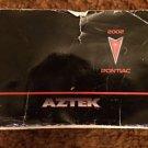 2002 Pontiac Aztek Owner's Manual Used Booklet