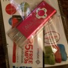 4GB MP3 Player & Flash Drive by Atak USB 2.0 Flash w/ Data Storage