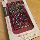 Macbeth collection iPod Touch Case  5th Gen Hardshell 'Ombre Leopard Pink/white