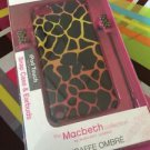Fashionation Macbeth Collection Giraffe iPod Touch 5th Gen Snap Case & Earbuds