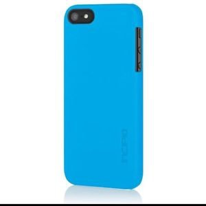 Incipio feather Ultra Thin Snap-On Case Cover for Apple iPhone 5 / 5S Matte Blue