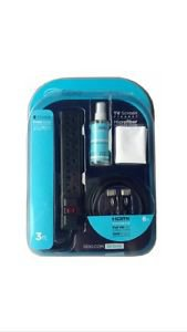 Seiki SK100K Kit w/Microfiber Cloth3oz.TV Cleaner3/6 Outlet Surge Protector6HDMI