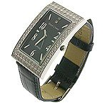 Modern CZ Jewel Men's Watch
