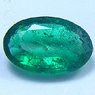 GENUINE EMERALD OVAL SHAPE