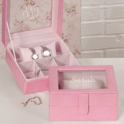 Pink Accessory Case
