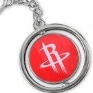 SWW20995KC - HOUSTON ROCKETS NBA TEAM 3D BASKETBALL REVERSIBLE KEY CHAIN