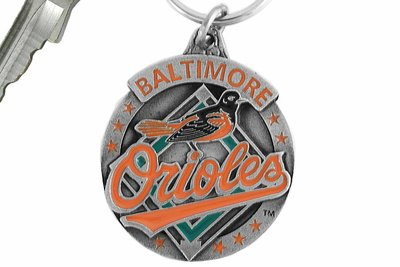 SWW16852KC - BALTIMORE ORIOLES KEY CHAIN