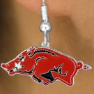SWW15779E - UNIVERSITY OF ARKANSAS RAZORBACKS EARRINGS