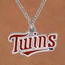 SWW14836N - MINNESOTA TWINS CHAIN LOGO NECKLACE