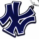 "SWW20372KC - NEW YORK YANKEES  ""NY"" LOGO LARGE RUBBER KEY CHAIN"