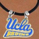 SWW145105N - UNIVERSITY OF CALIFORNIA, LOS ANGELES (UCLA) BRUINS BLACK CORD NECKLACE