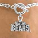 SWW12834B - LICENSED BAYLOR UNIVERSITY BEARS BRACELET