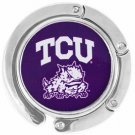 SWW17194BH - TEXAS CHRISTIAN  UNIVERSITY LOGO PURSE  HOLDER