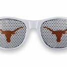 "SWW20813SG - UNIVERSITY OF TEXAS  ""LONGHORNS"" LOGO WHITE SUNGLASSES"