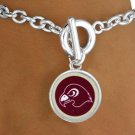 SWW13436B - LICENSED FAIRMONT STATE UNIVERSITY FIGHTING FALCONS MASCOT BRACELET