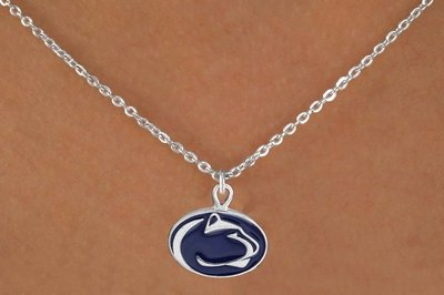 """SWW16049N - PENNSYLVANIA STATE UNIVERSITY """"NITTANY LIONS"""" NECKLACE"""
