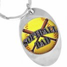 "SWW12920KC - ""SOFTBALL DAD"" KEY CHAIN"