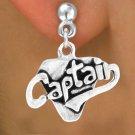 """SWW353SE - """"CAPTAIN"""" & EARRINGS"""